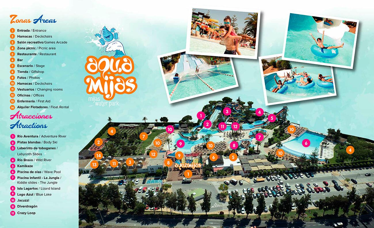 Planea tu visita al parque acuático AquaMijas