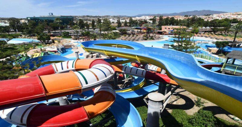 AquaMijas es un parque acuático con muchas opciones para niños, atracciones infantiles y un espacio para celebrar cualquier evento y cumpleaños
